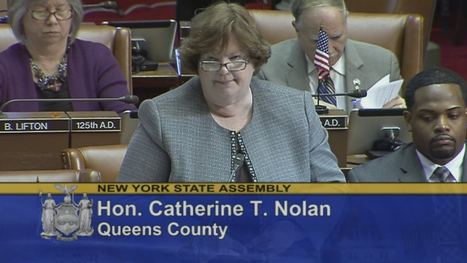 Assemblywoman Nolan Discusses Her Legislation to Provide Paid Family Leave in New York