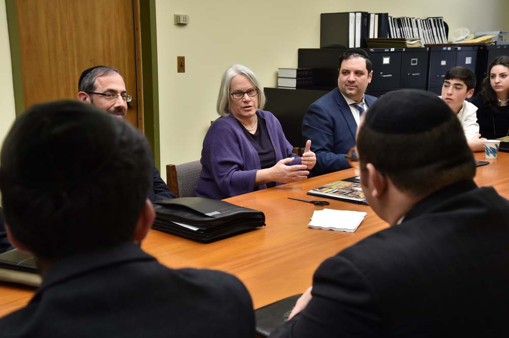 The JCC of Marine Park brought a number of neighborhood partners to speak with Assemblywoman Weinstein about community issues during a recent visit to Albany.