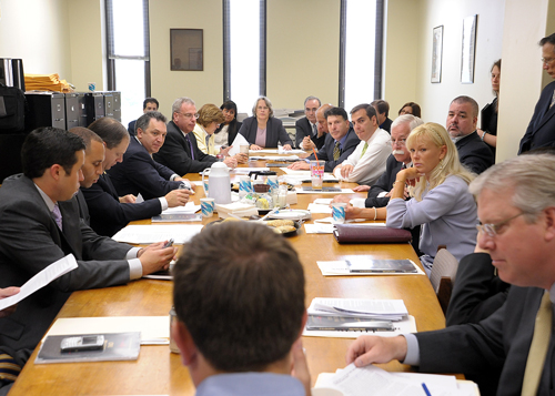 The Assembly Judiciary Committee meets regularly during the Legislative session. Assemblywoman Weinstein chairs the committee.