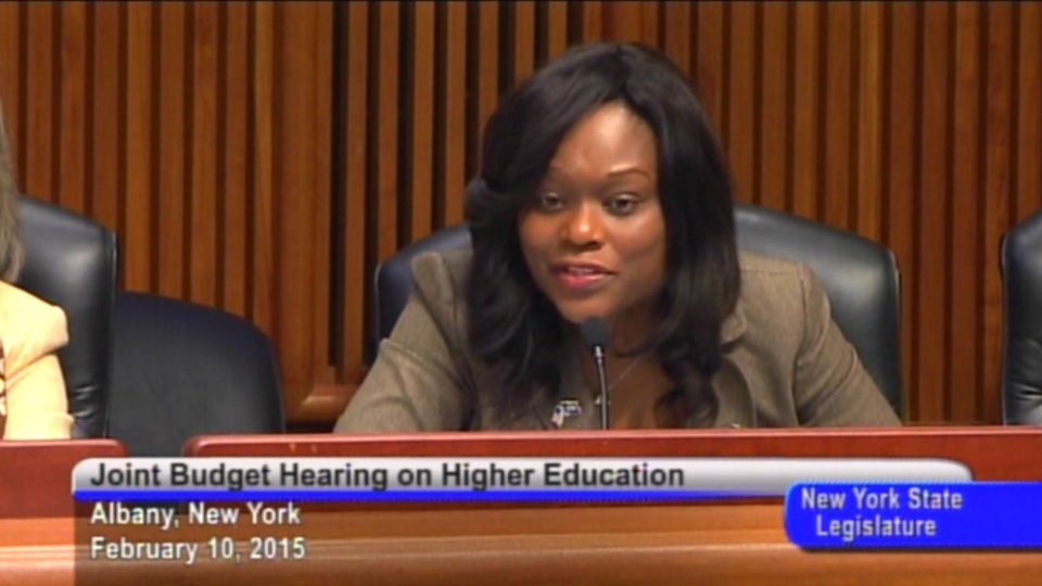 Budget Hearing on Higher Education
