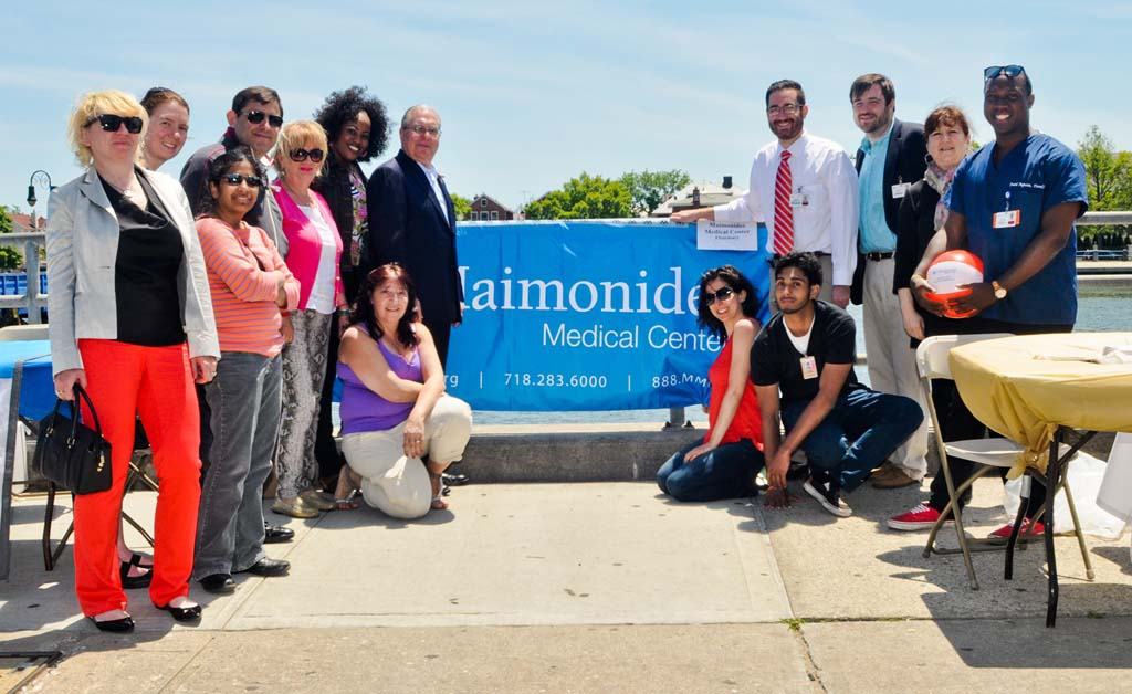 Maimonides Medical Center was an event sponsor of Assemblyman Cymbrowitz� 12th Annual Lena Cymbrowitz Community Health Fair.