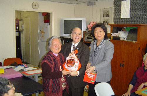 Every year Assemblyman Colton donates turkeys to some of the senior centers in his neighborhood. It is Assemblyman Colton�s way of giving �thanks� and good will to the elderly population in the community.