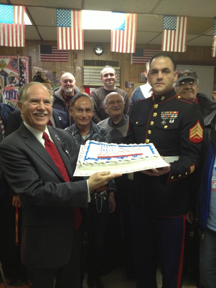 Assemblymember William Colton and Council Member Mark Treyger at Annual Veteran Recognition event. organized by them.<br />