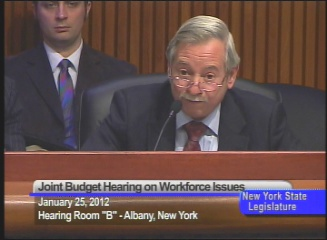 Workforce Budget Hearing