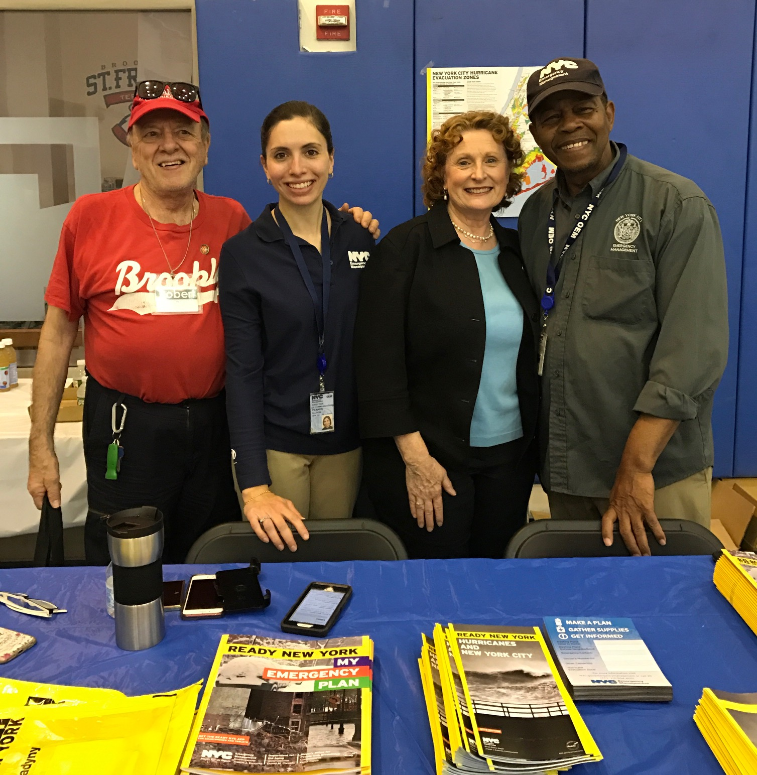 Assemblymember Jo Anne Simon hosts her annual Senior Resource Fair and Town Hall at St. Francis College.