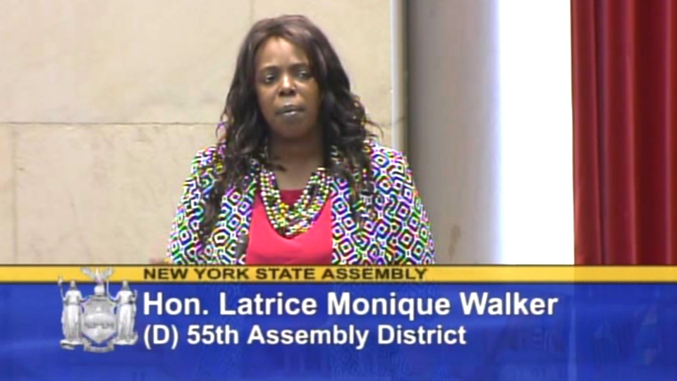 Assemblywoman Walker Votes To Protect A Woman's Right To Choose