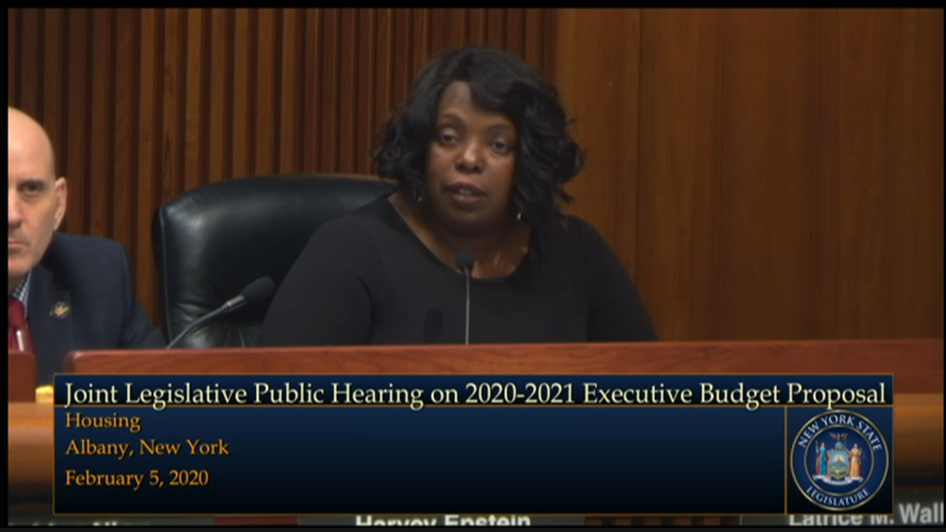 2020 Joint Budget Hearing on Housing
