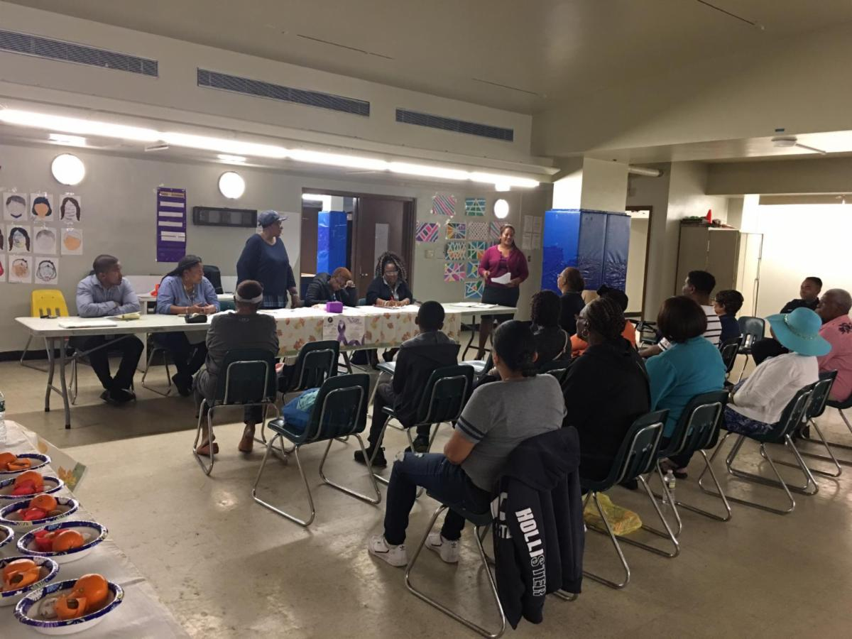 Glenwood Tenants Association Meeting.