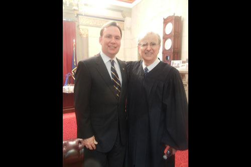 Chief Judge of the State of New York & Chief Judge of the Court of Appeals Jonathan Lippman swore me in yesterday as the representative for Staten Island's 63rd District.