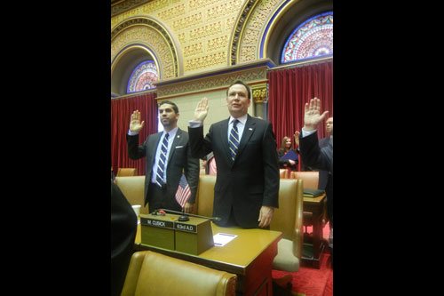 It was an honor to be sworn in yesterday. I want to thank the people of the 63rd District for putting trust in me to be their representative in Albany.