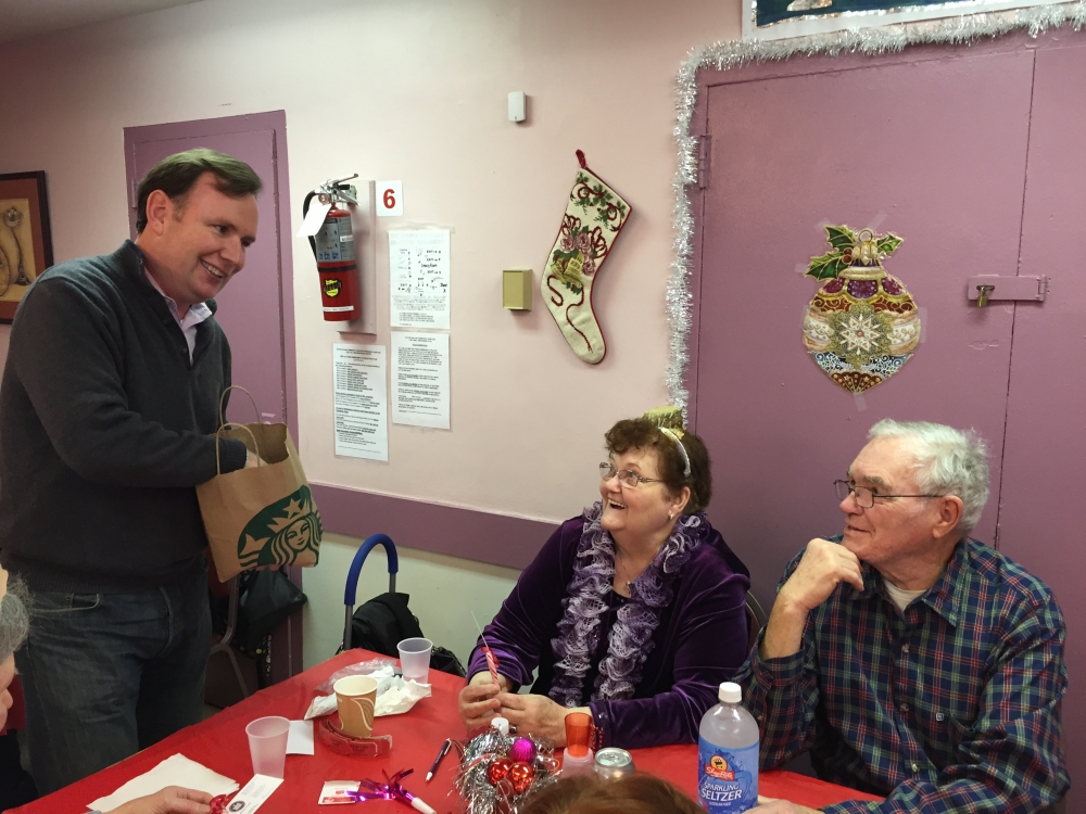 Visiting Todt Hill Friendship Club Holiday Party