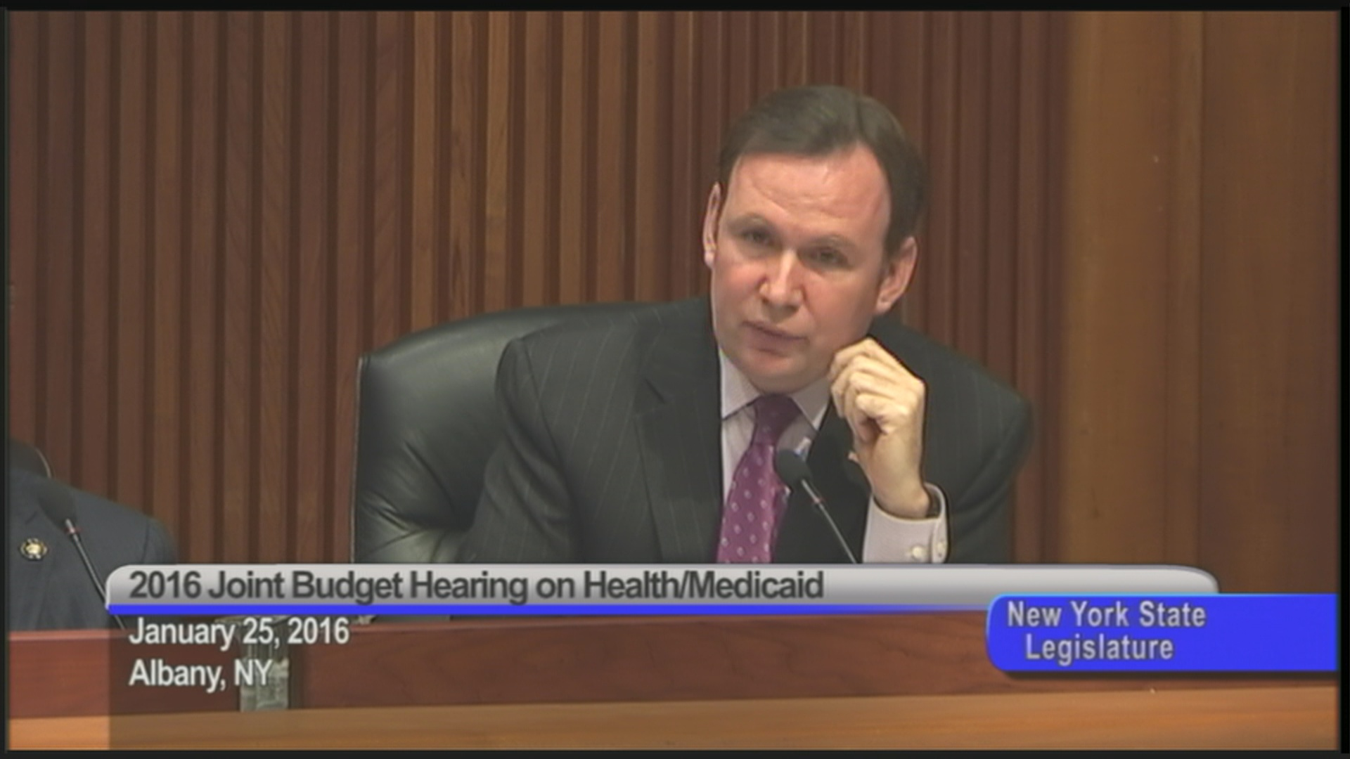 Cusick Questions NYS Dept. of Health Leaders
