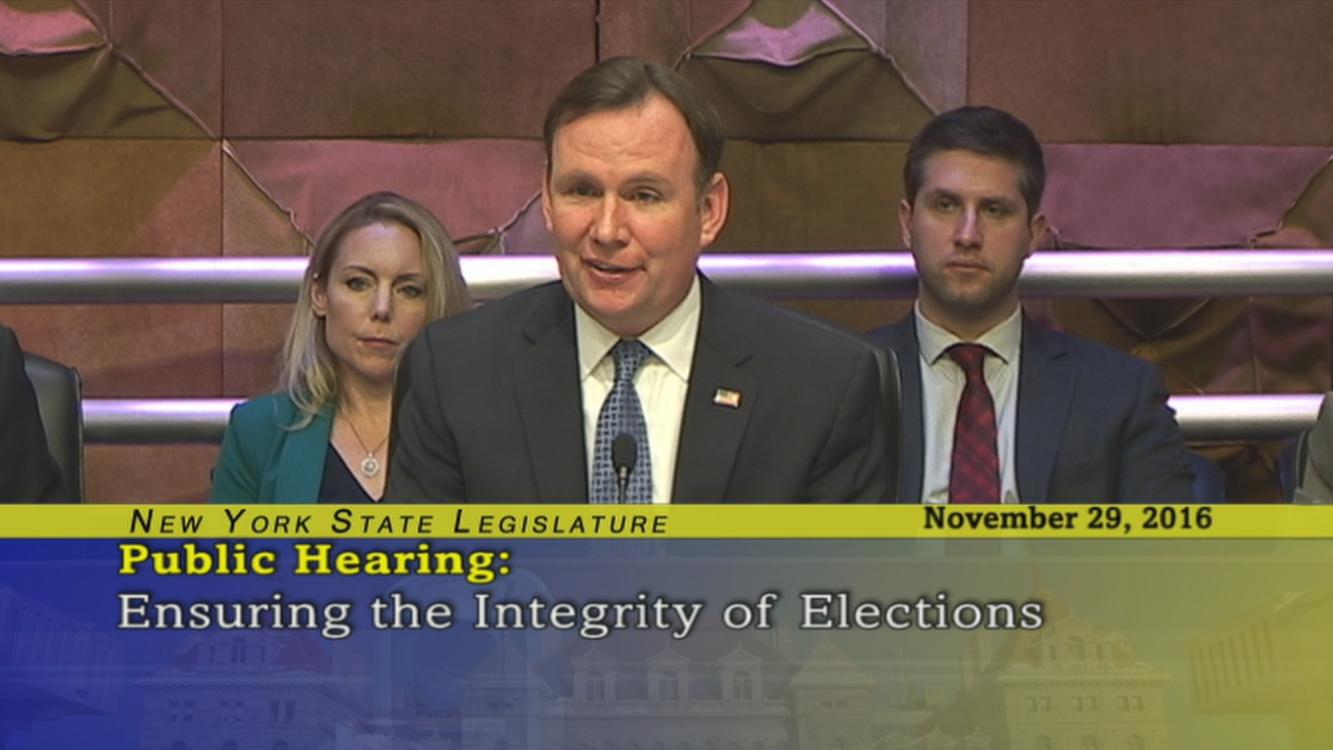Assemblyman Cusick Questions NYS Board of Elections Co-Director Robert Brehm