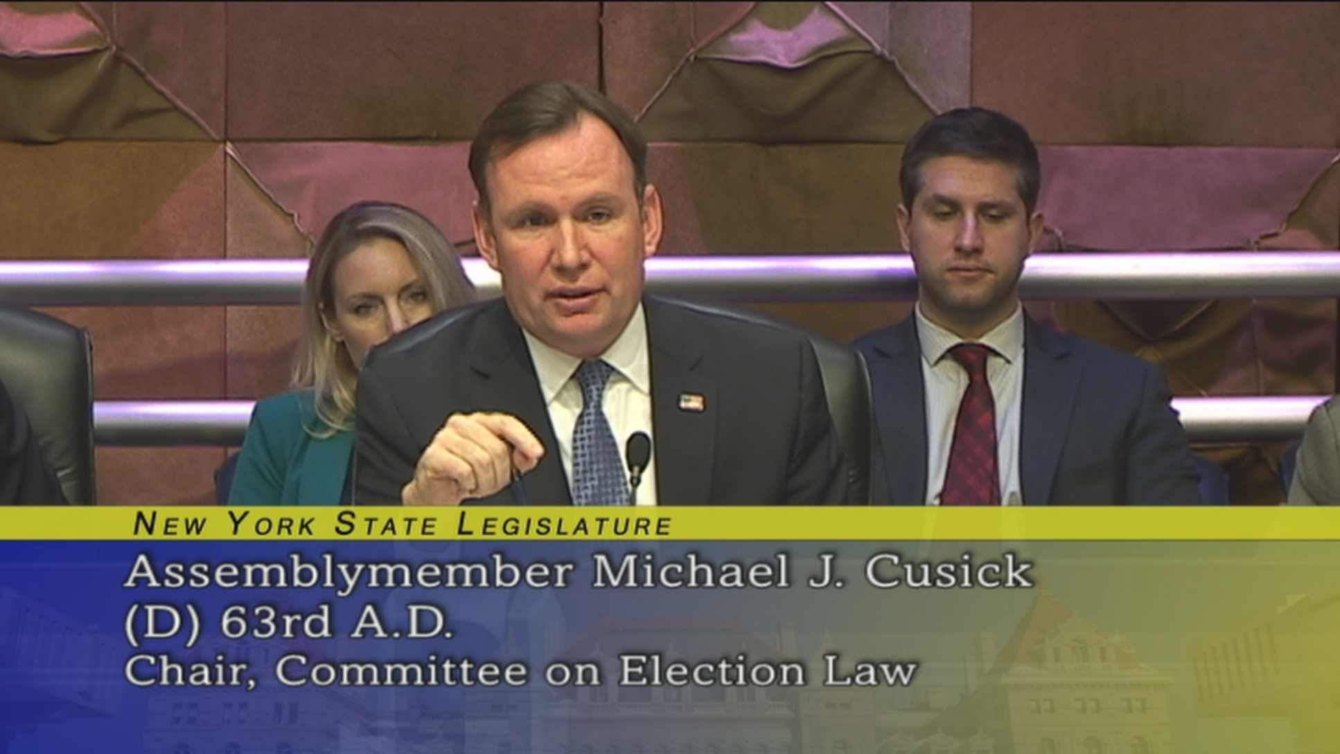 Assemblyman Cusick Raises Concern For The Protocol Used To Report Bad Voter Registration
