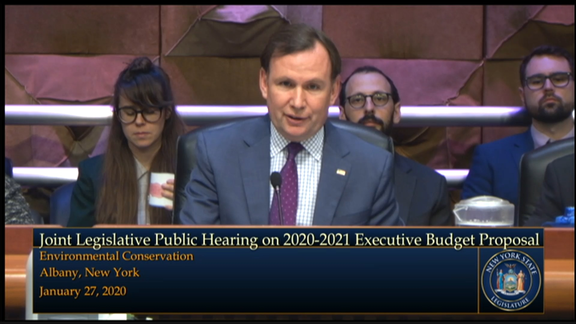 2020 Joint Budget Hearing on Environmental Conservation