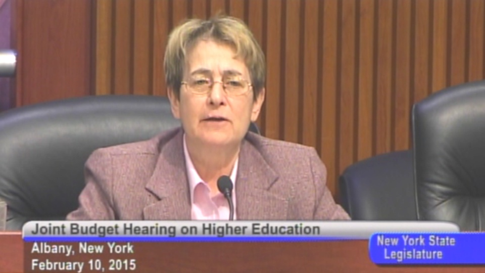 Budget Hearing on Higher Education #1