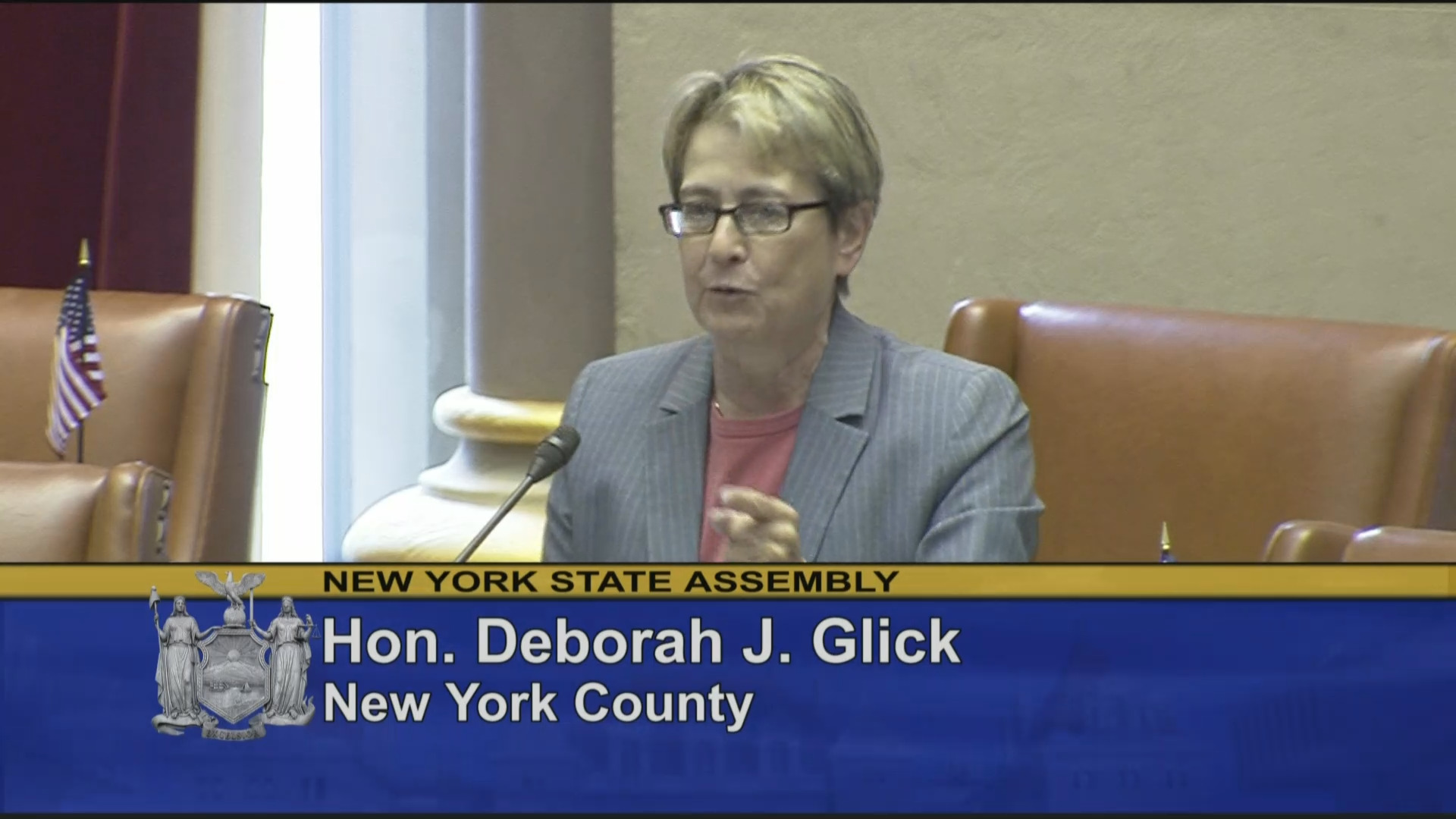 Glick Speaks about Flag Day Resolution