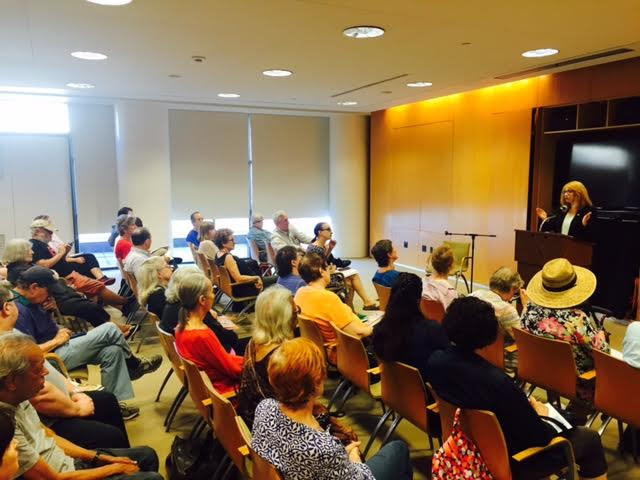 West 70s residents attend one of Assemblymember Linda B. Rosenthal's annual 10-block town hall event at the Marlene Meyerson JCC Manhattan.