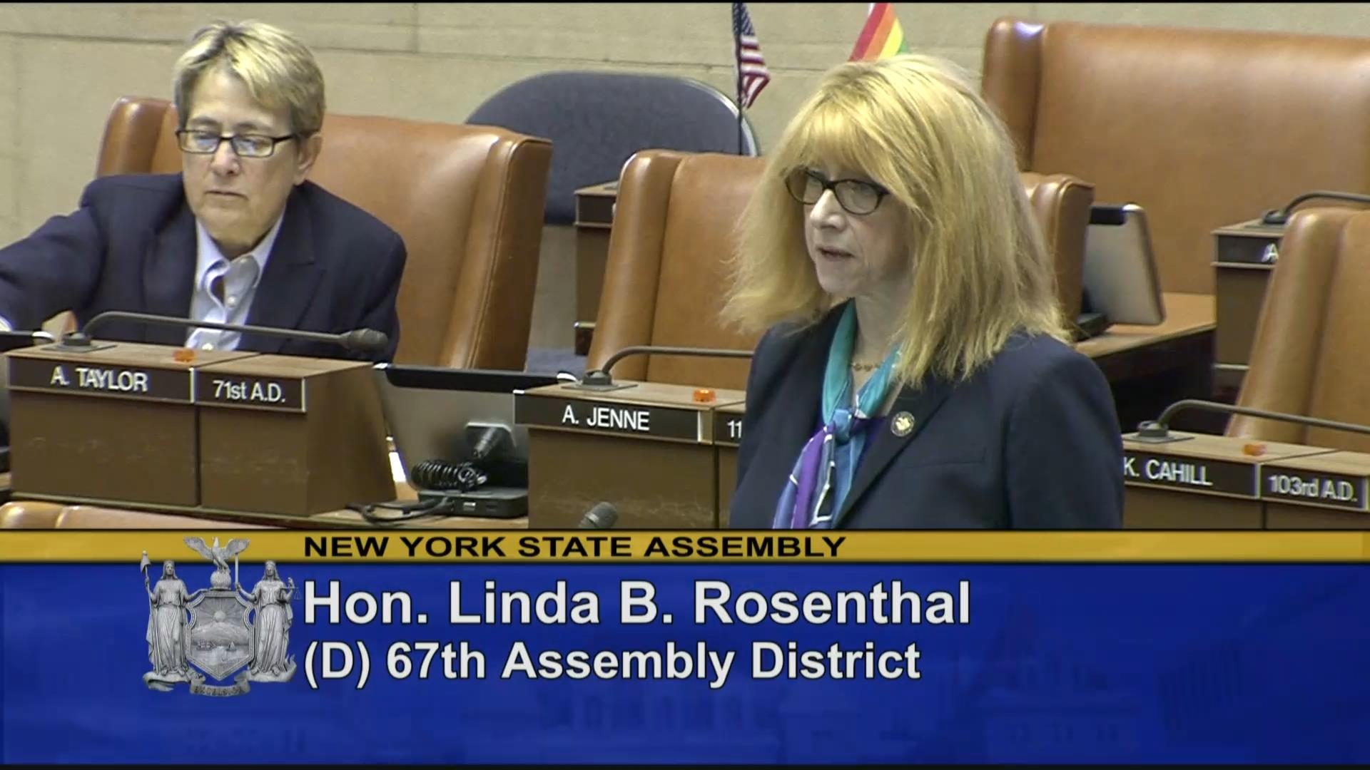 Rosenthal Introduces Advocates for Lymphedema