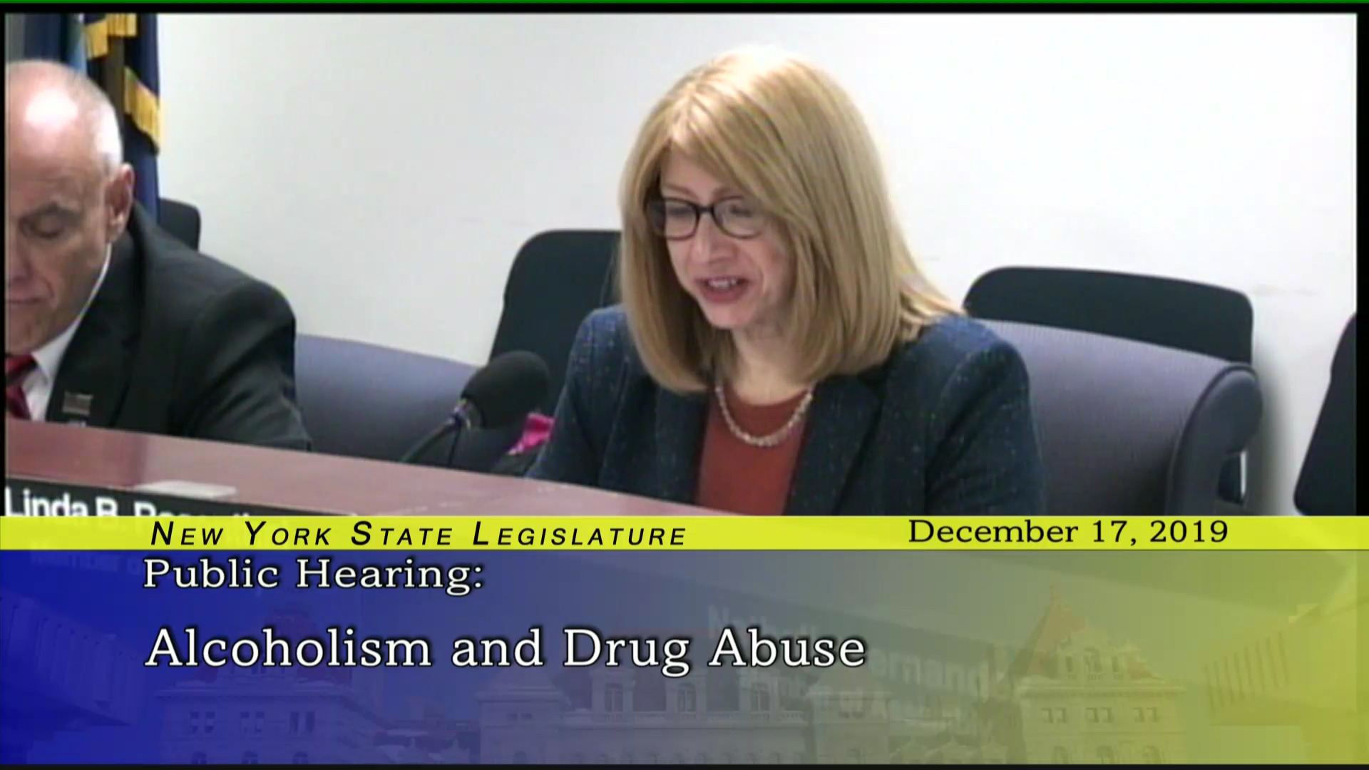 Public Hearing on Alcoholism and Drug Abuse (2)