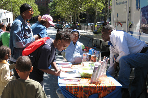 Community members receive important health information at one of Assembly Member O�Donnell�s regular Health Fairs.