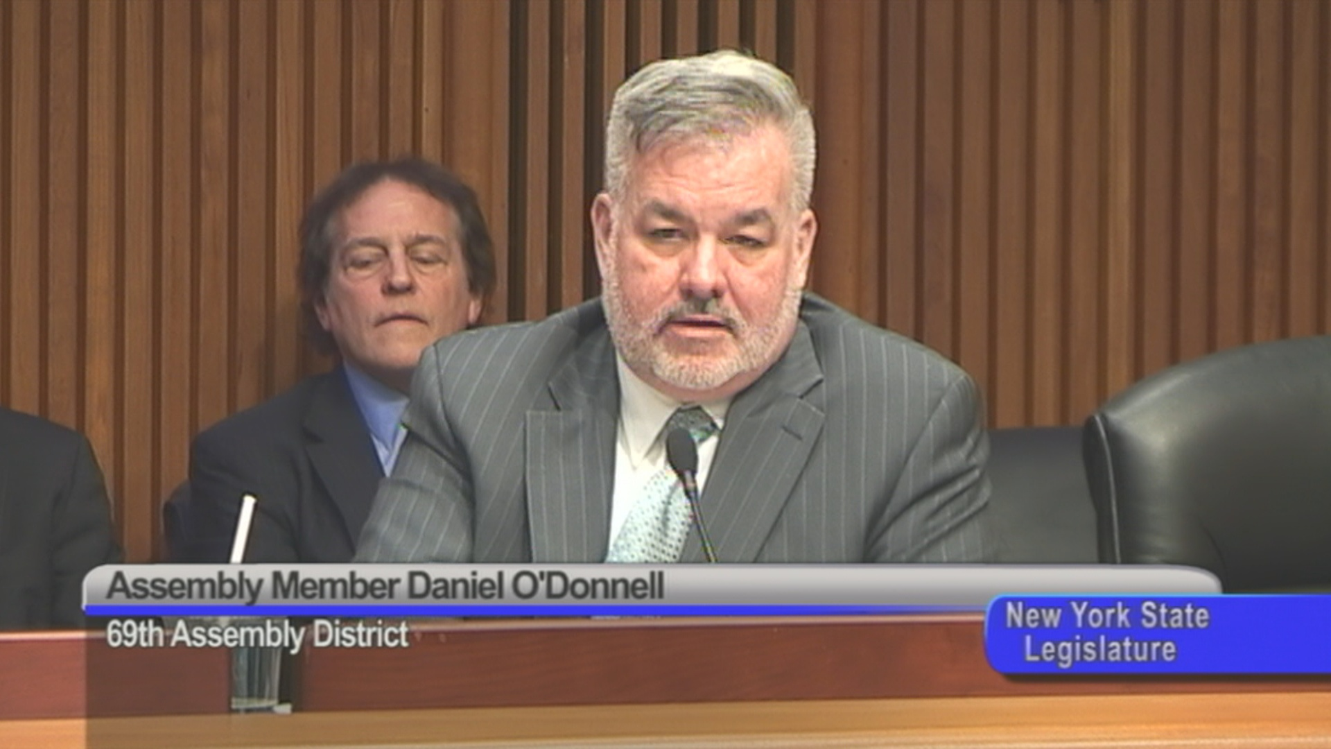 Assembly Member O'Donnell Inquires about NYC Police Pay Scale