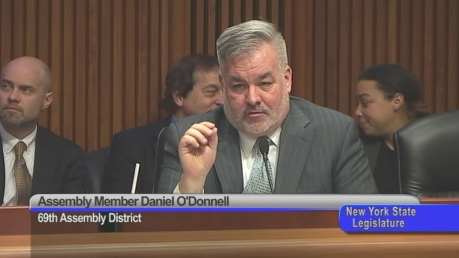 Assembly Member O'Donnell Discusses Parole and Community Supervision