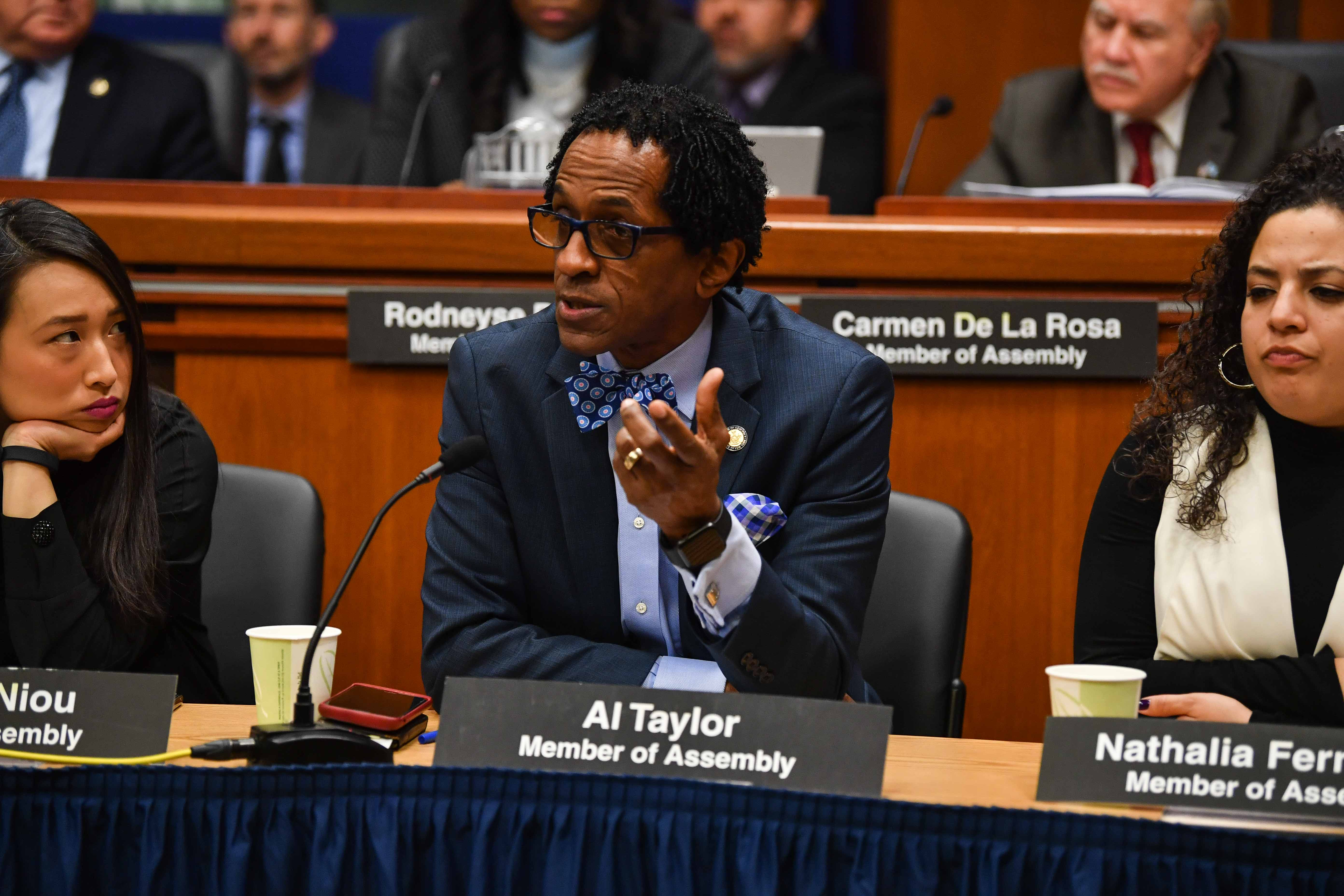 Assemblymember Taylor made sure the voices of his constituents were heard during the Joint Legislative Budget Hearing on Housing on February 4, 2019.