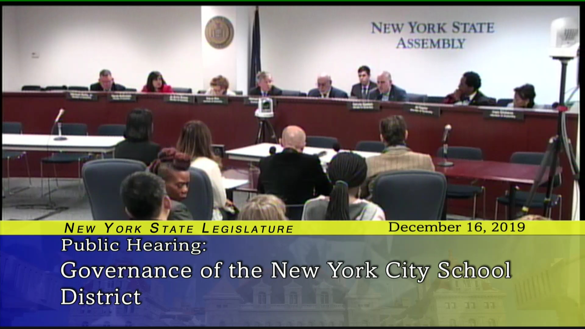 Public Hearing On Governance of the New York City School District (1)
