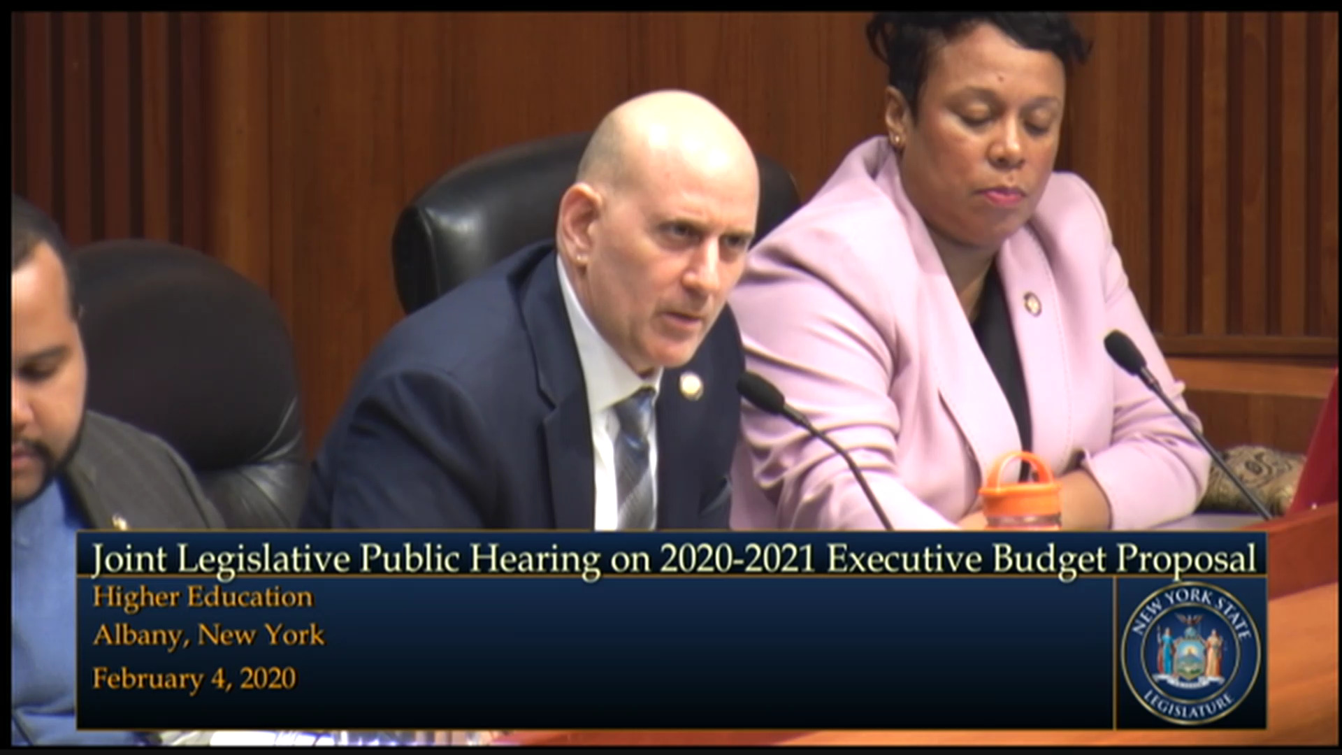 CUNY Chancellor Testifies During Higher Education Budget Hearing