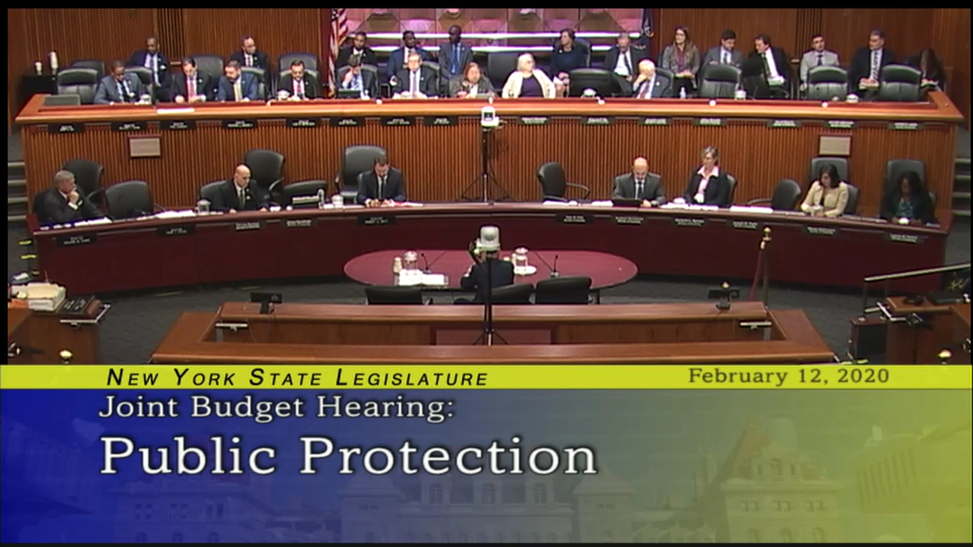 2020 Joint Budget Hearing on Public Protection