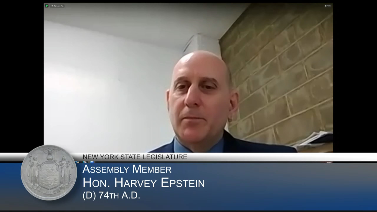 Epstein Questions Interim Education Commissioner During Budget Hearing on Education