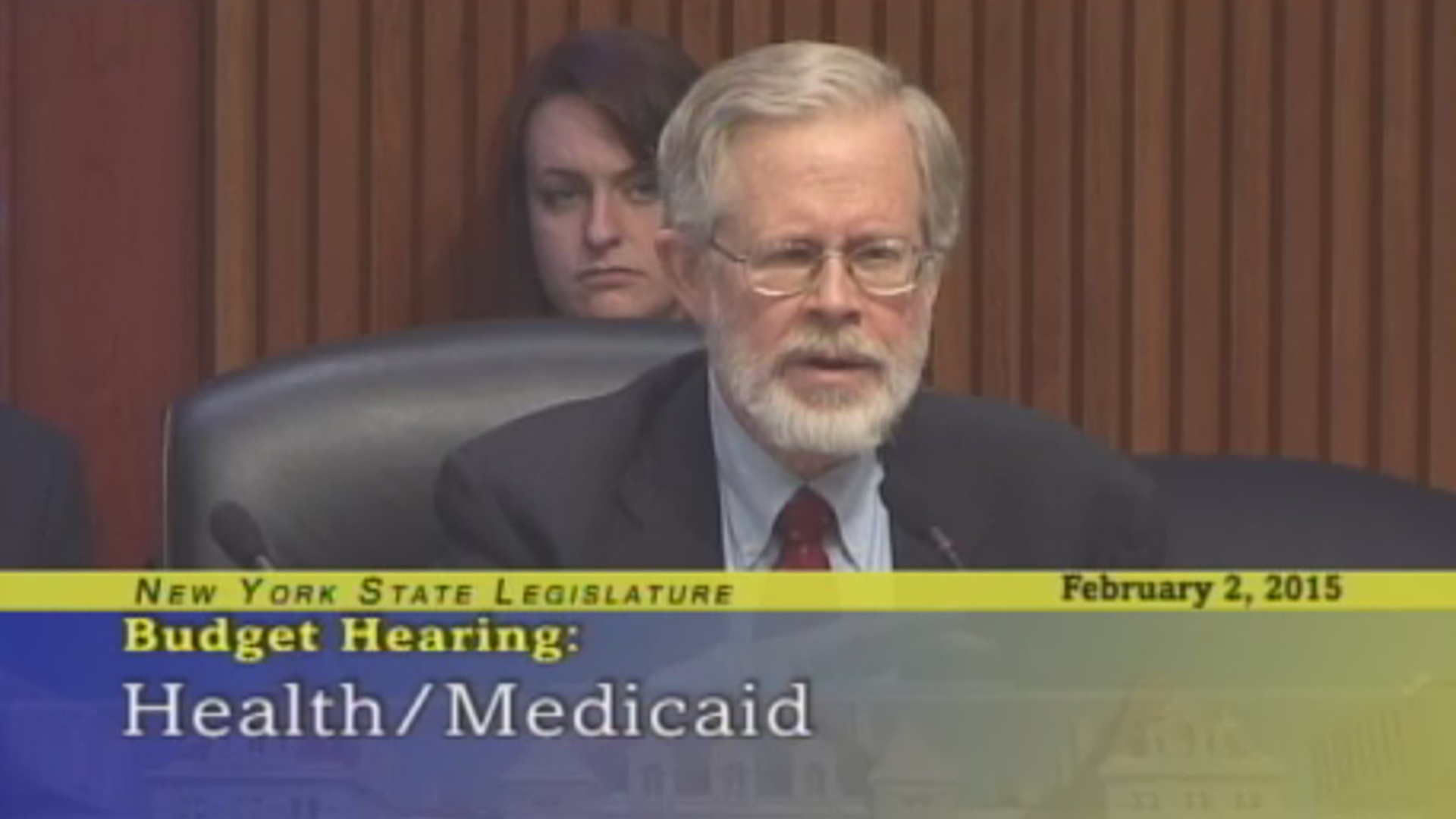 Health/Medicaid Budget Hearing #1