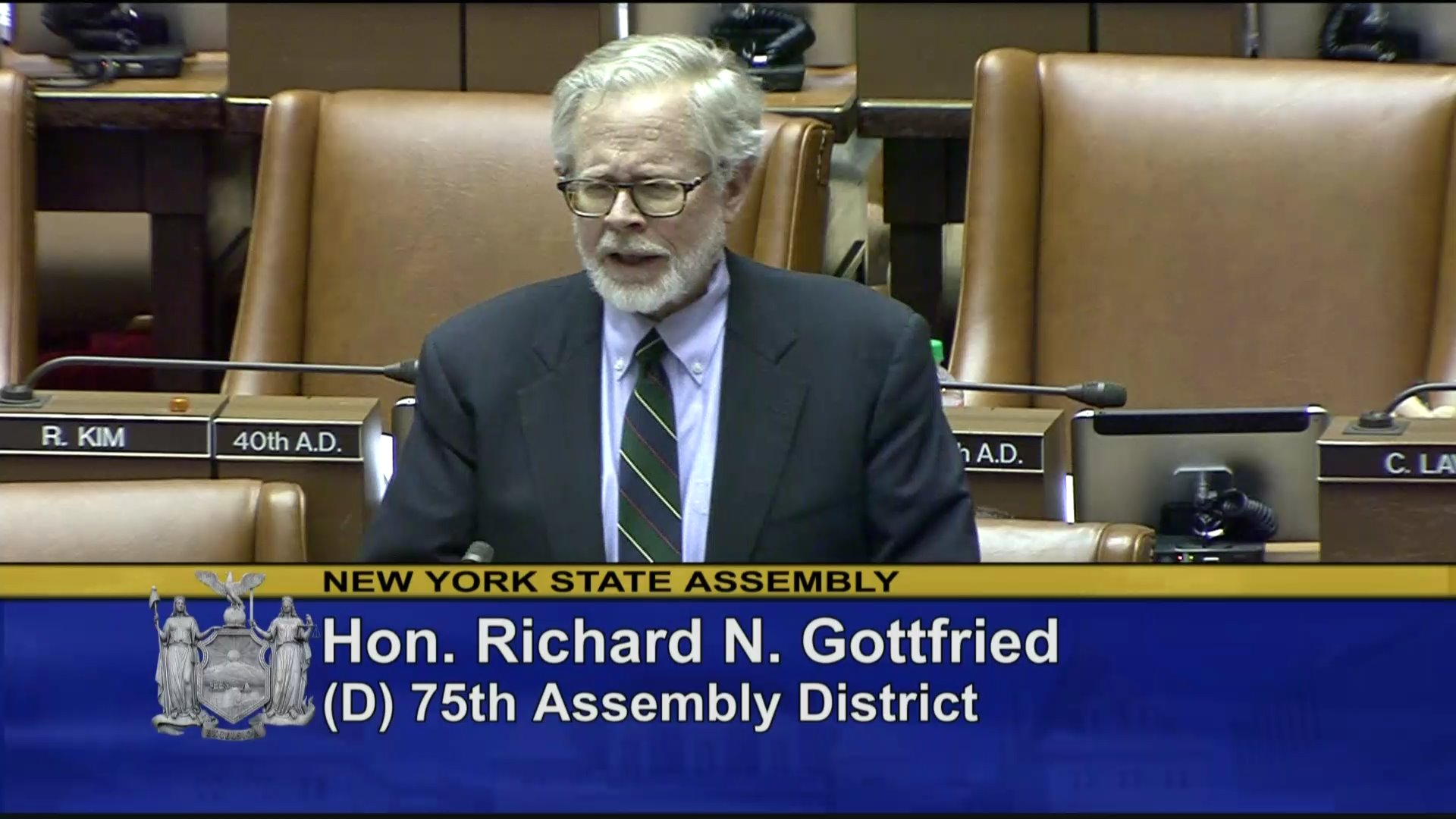 Assemblyman Gottfried Supports Reproductive Health Act