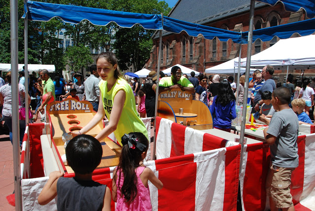 Roosevelt Island Day 2015 Games (photo courtesy Frank Farance)