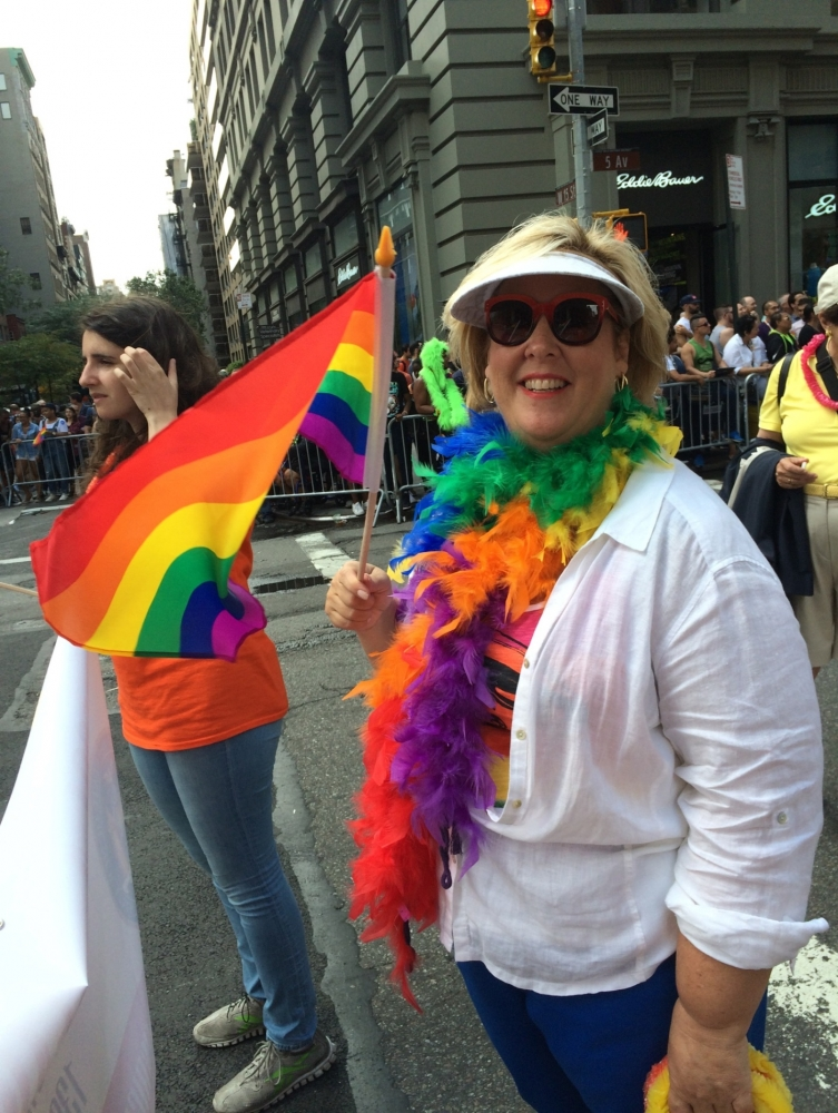 Assembly Member Seawright marches in the 2015 NYC Pride Parade on June 28th, 2015