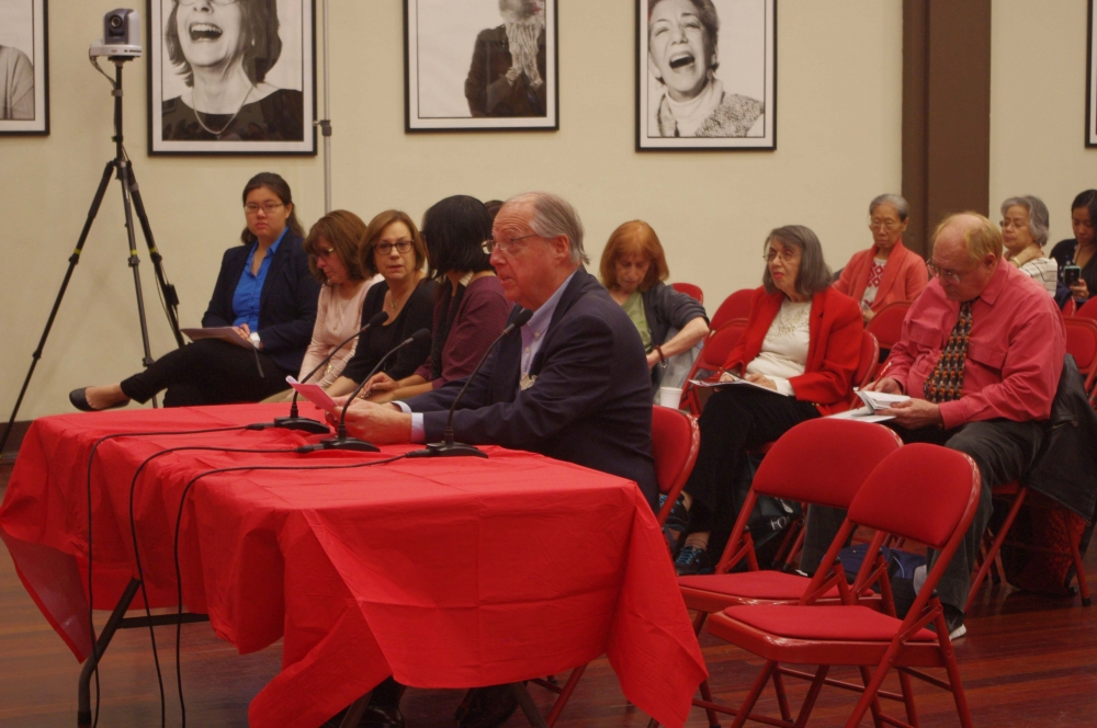 James Arnold, AARP, testifying at the Assembly Member�s Senior Consumer Fraud Hearing.