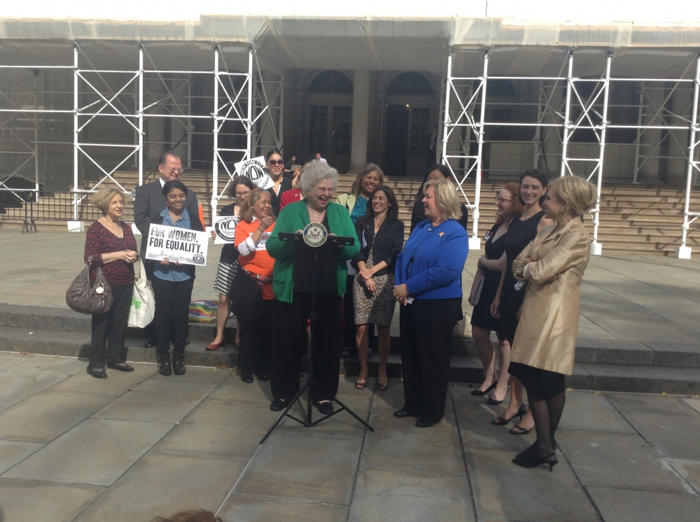 Forty three years ago today, Assembly Member Seawright�s mentor Sarah Weddington won a woman's right to choose. Today, we still fight for codification in NYS.