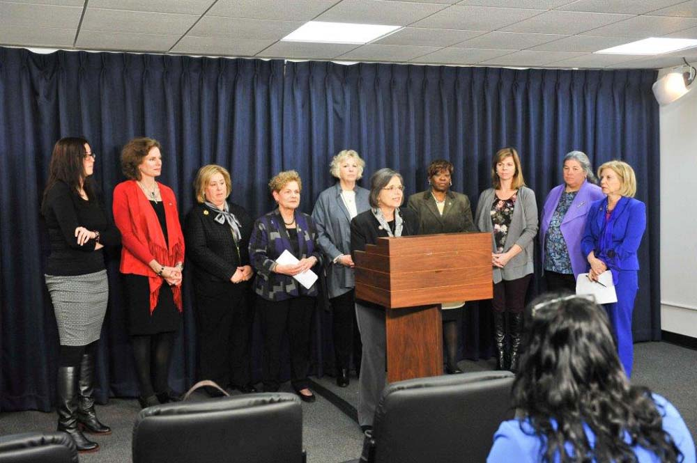 "March 20, 2017 – The assembly task force on women's issues held a  press conference on budgetary priorities and called for the inclusion of those priorities in the final enacted budget.  Assembly Member Seawright said, ""Our state budget needs to fund important priorities for women and low to middle income families. It is more important now in the light of the proposed federal budget that gravely cuts support for middle class families, seniors and our children.""<br />"