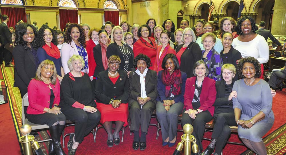 March 8, 2017 – Seawright and the Legislative Women's Caucus Meet to Discuss Women in Government<br />