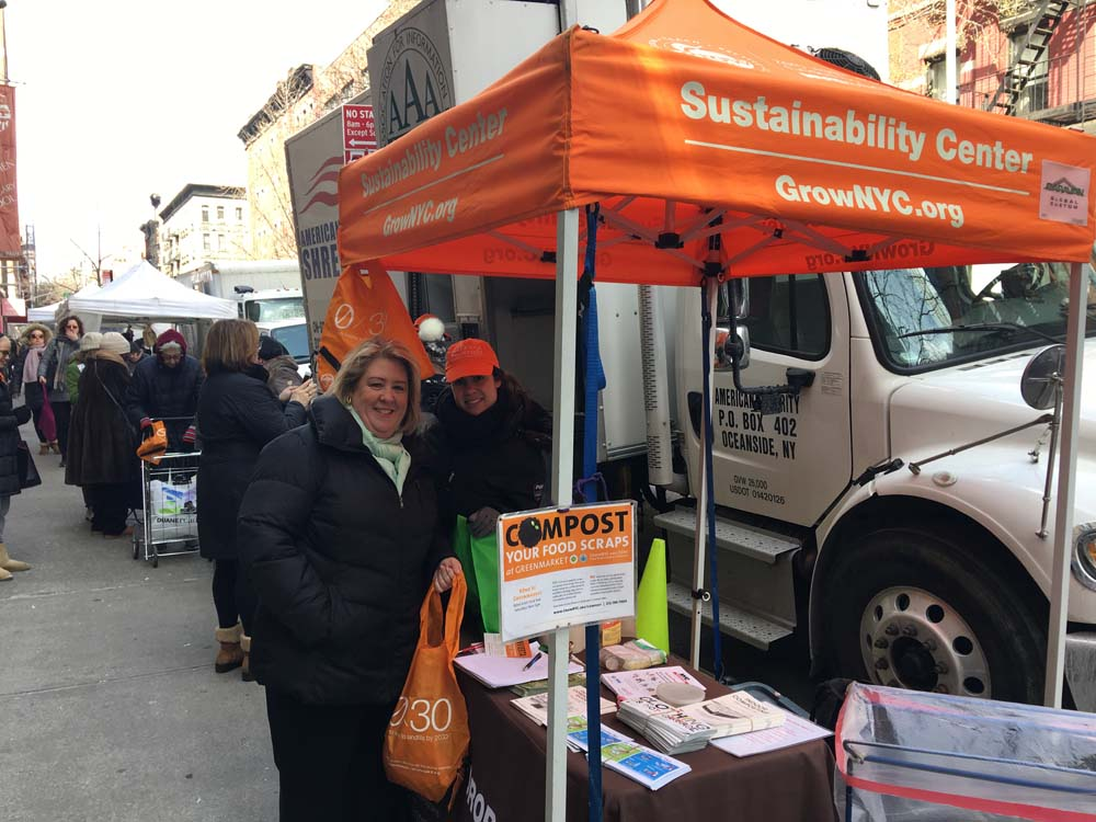 March 11, 2017 – Our Constituent Liason, Loraine Farberg, with Assembly Member Seawright at the Shred-a-thon on Saturday in partnership with Upper Green Side. Despite frigid temperatures, members of the community were excited to get a head start on spring cleaning by getting rid of old documents in an environmentally-friendly way.<br />