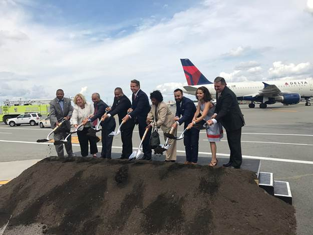 "On Tuesday, August 8, Assembly Member Seawright joined the ground breaking by Governor Cuomo and Delta CEO Ed Bastian for the start of the construction of new facilities at a groundbreaking ceremony at LaGuardia Airport. Recently, the Port Authority of New York and New Jersey signed a new, long-term lease with Delta. <br /><br /><strong>Seawright said</strong>, ""I was proud to join Governor Cuomo on Tuesday for the groundbreaking and historic all union labor, MWBE public-private partnership for the start of the final phase of construction for the entirely new, unified airport at LaGuardia, which will provide all LaGuardia travelers with state-of-the-art amenities and expanded public transportation, including the planned AirTrain."" <br />"