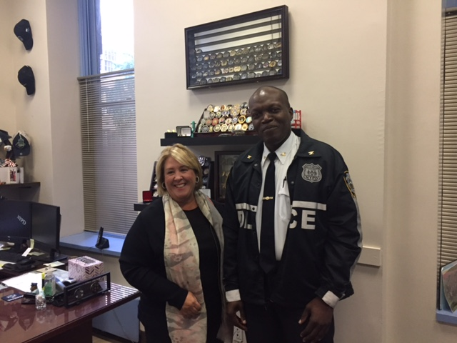 On Tuesday, October 3, Seawright met with Commanding Officer Inspector McPherson to discuss new initiatives by the 19th Precinct including the Safe Senior Citizen Program at a Senior Center near you!<br />Stay tuned for a crime prevention presentation on November 13! Details are forthcoming. <br />