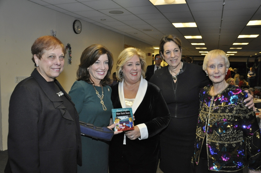 Brenda Wilkin, Lt. Governor Kathy Hochul, Rebecca Seawright, Sandra Wilkin and Community Activist Peggy O'Reilly.<br />