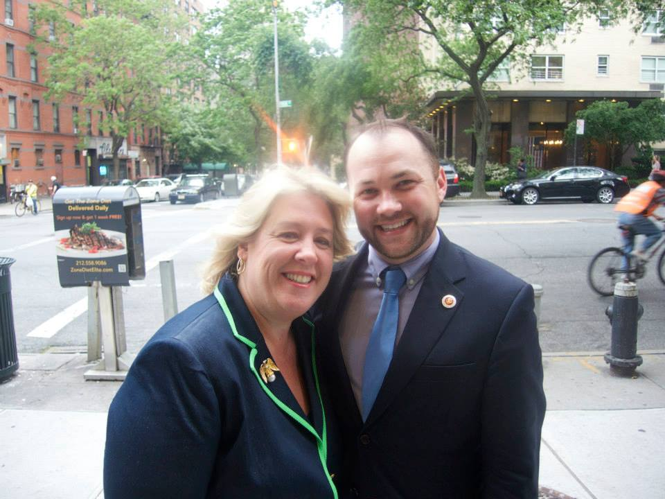 """Congratulations to Corey Johnson on his election to New York City Council Speaker.  I look forward to working with our new Speaker and the City as we enter the next legislative session to help progress the priorities of the City of New York -- affordable housing, criminal justice reform, reliable transit and equality for all.  These are issues that Corey has always championed for his constituents,"" said Seawright. <br />"