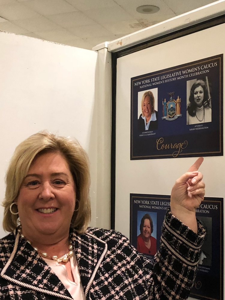 Seawright in the Women's History Month Gallery.<br />