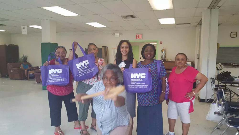 Assemblywoman Latoya Joyner, with the help of the Mayor�s Office to Combat Domestic Violence�s Family Justice Center, provided a free senior safety awareness workshop to the community.