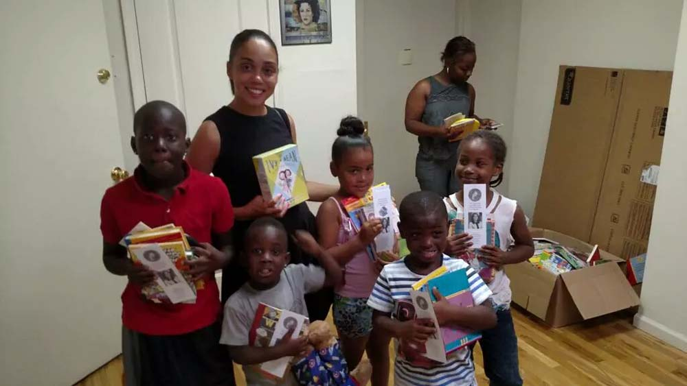 Assemblywoman Latoya Joyner offers free books to children this summer in support of her 1st Annual Summer Reading Challenge.