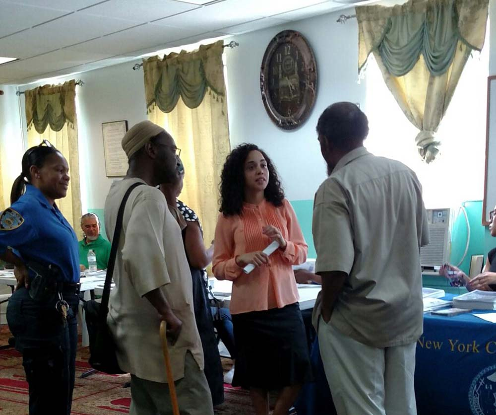 Assemblywoman Latoya Joyner hosted a Mosque Resource Fair, which included free resources, information and services to help the community with various issues and concerns.<br />