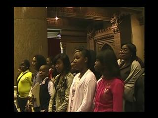 Bronx Students Visit the Assembly